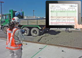 空港Co舗装とT-CIM®/Concrete画面イメージ