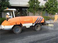 舗装路面冷却工法