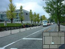 別府市 Bコンプラザ前通り(1994年~供用中)